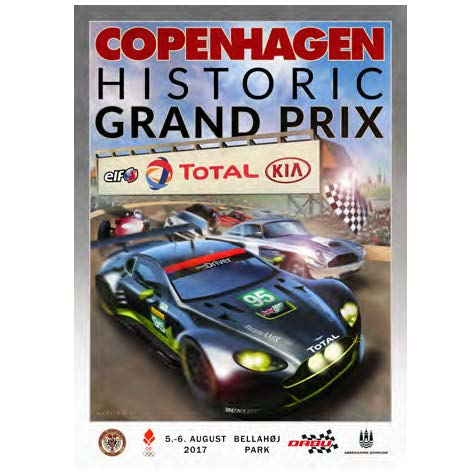 Copenhagen Historic Grand Prix 2017 - Billetter